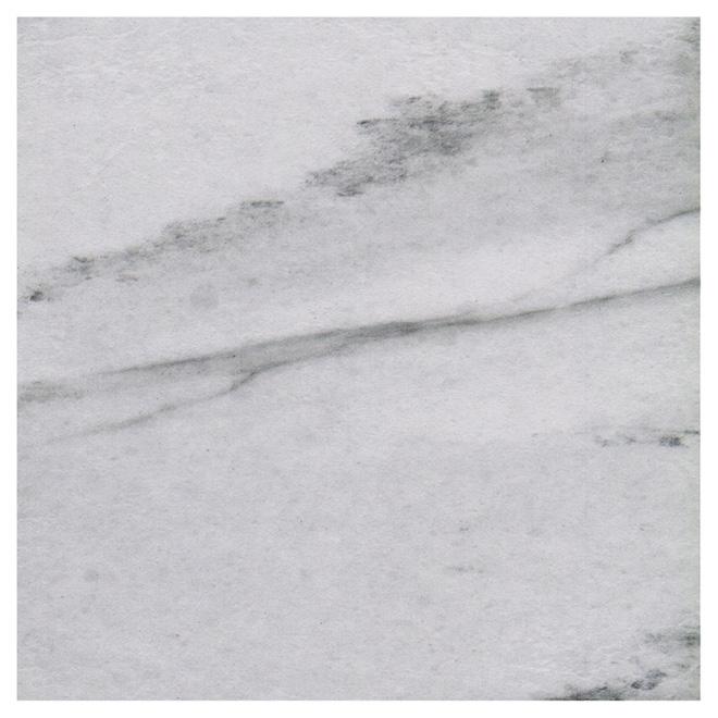"""Tuiles de céramique, 13,39"""" x 13,39"""", 12/boîte, marbre"""