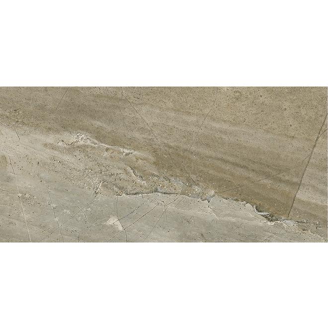 Mono Serra Denver Stone Porcelain Tile Grey 12 X 24 9770