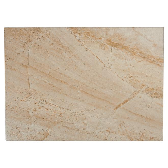 Ceramic Tile - 16'' x 16'' -  Beige - 11/box