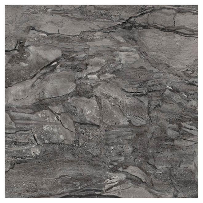 "Mono Serra Floor Tiles - Porcelain - Dark Grey - 24"" x 24"""