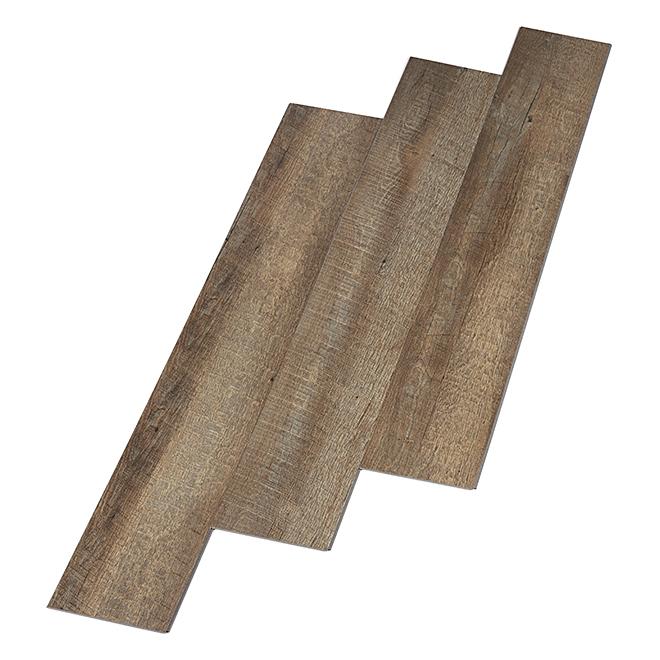 Planche de vinyle, 28,14 pi², gris
