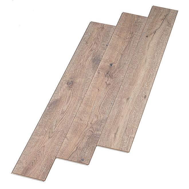 Planches synthétiques pour plancher, 26,43 pi², brun, 48/pqt