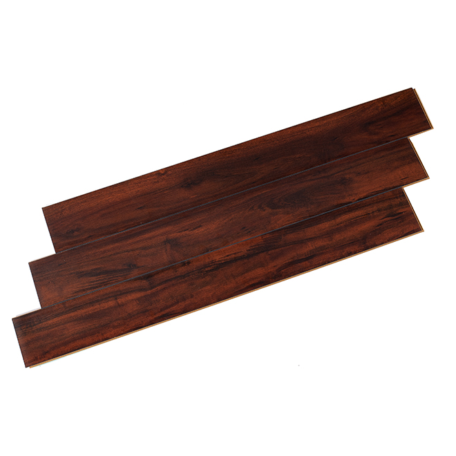 Laminate Flooring 12mm Megaloc Brown