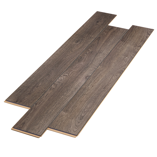 Laminate Flooring - AC3 - HDF - 12 mm - Dark Grey
