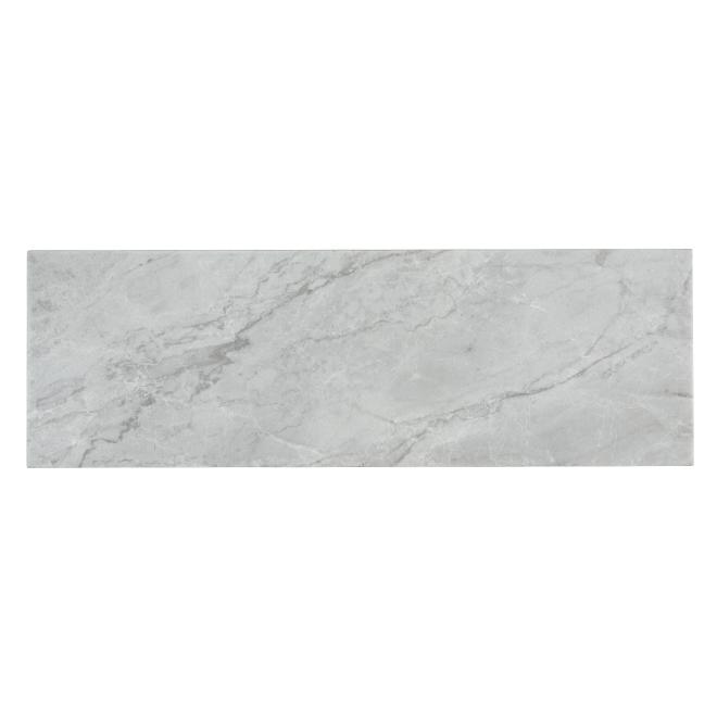 "Orobico Silver Porcelain Tiles - 4"" x 12"" - 42/Box - Grey"