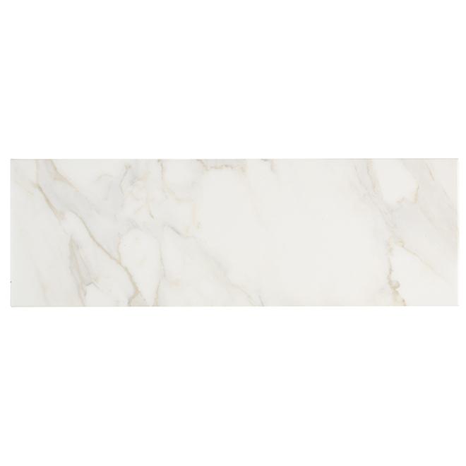 "Ceramic Tiles - 10"" x 30"" - 7/Box - White"