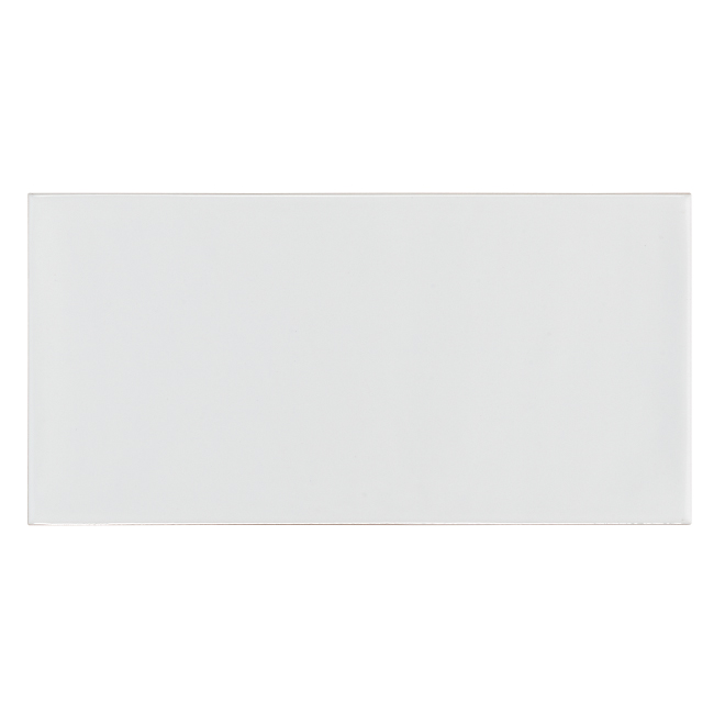 "Ceramic Tiles - 4"" x 8"" - 68/Box - White"
