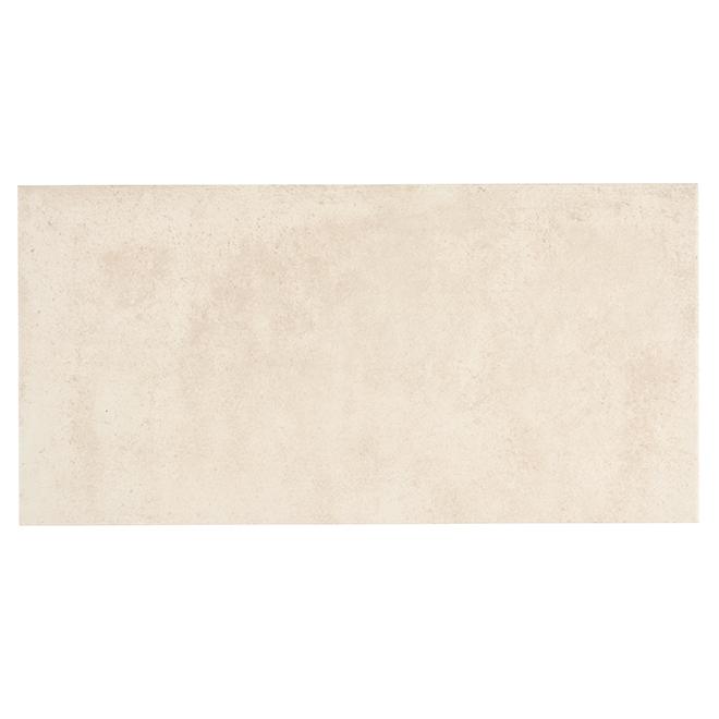"Porcelain Tiles - 12"" x 24"" - 7/Box - 14.53sq.ft. - White"