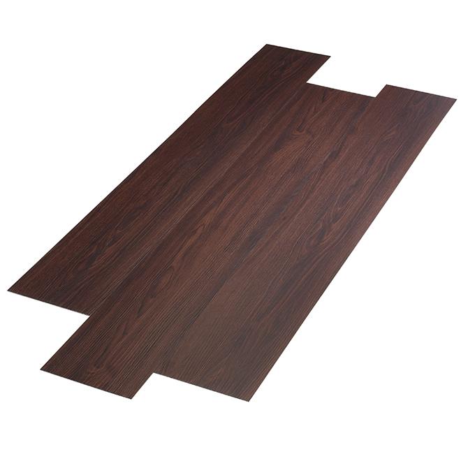 Vinyl Floor Tiles - 48.28 ft² - Brown