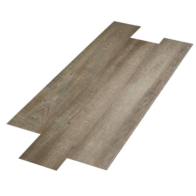 Carreaux de vinyles, 48,28 pi², gris