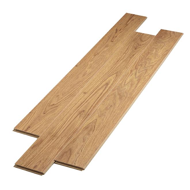 Plancher stratifié en HDF, 12 mm, Beige