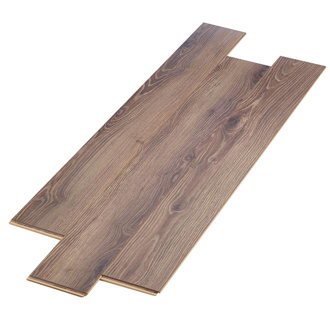 Laminate Flooring 12mm - 17.72 sq.ft./Box - Brown