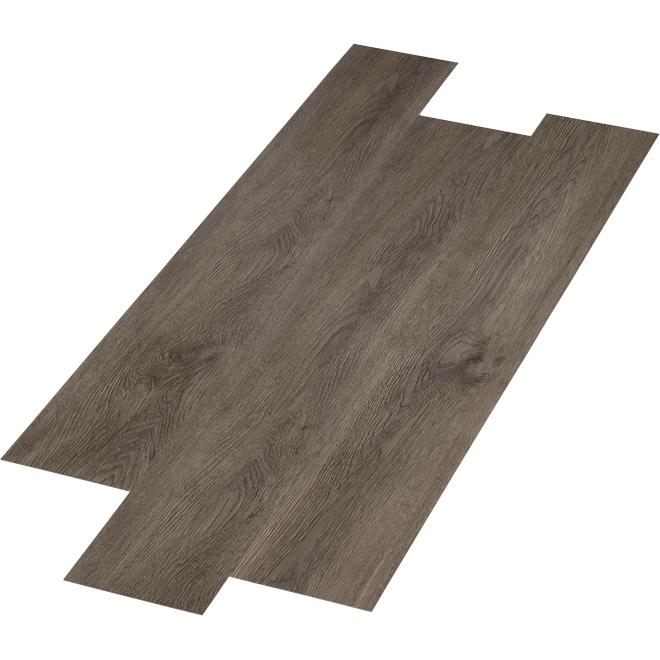 "Composite Flooring Planks - 6"" x 48"" - 28.38 sq ft/Box - Grey"