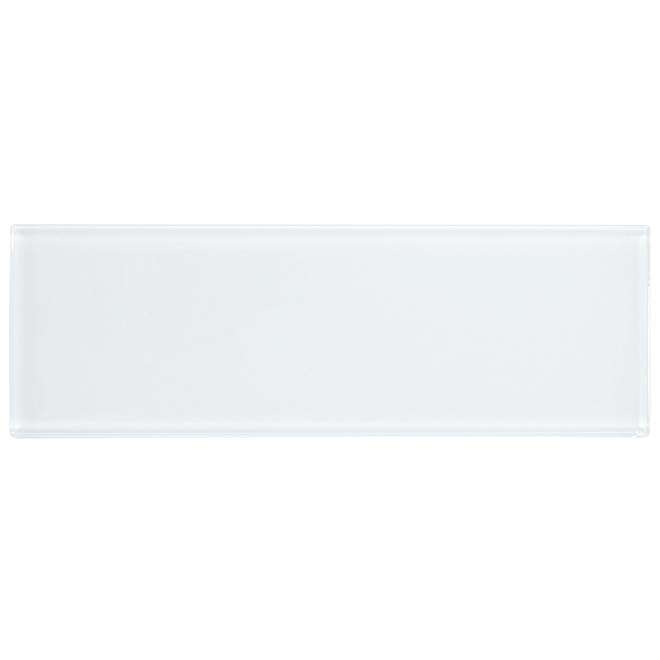 "Glass Tiles - 4"" X 12"" - 30/Box - White"