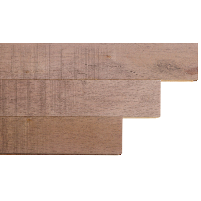 """Plancher de bois franc, merisier, 3 1/4"""", 20 pi², brun beige"""
