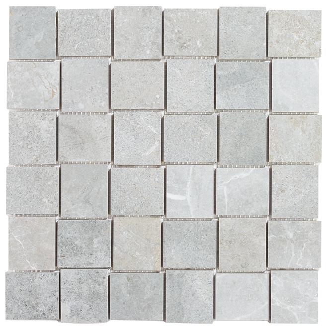 """Arcadia"" Porcelain Mosaic - 12"" x 12"" - Beige - 5/box"