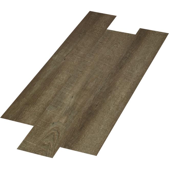 Vinyl Floor Plank - 4.2 mm - 28.38 sq. ft. - Brown