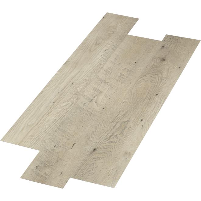 """Mono Serra SPC Floor - """"Sandstone"""" - 28.38 sq. ft. - Beige Grey"""