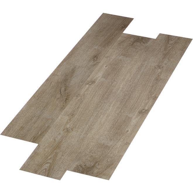 "Mono Serra SPC Flooring - ""Arizona"" - 28.38 sq. ft. - Brown"
