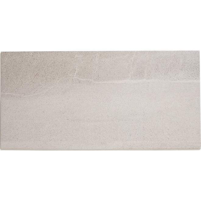 "Forum Porcelain Tiles - 12"" x 24"" - Grey - Box of 8"