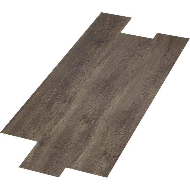 Whistler Vinyl Floor - 28.38 sq. ft. - Dark Grey