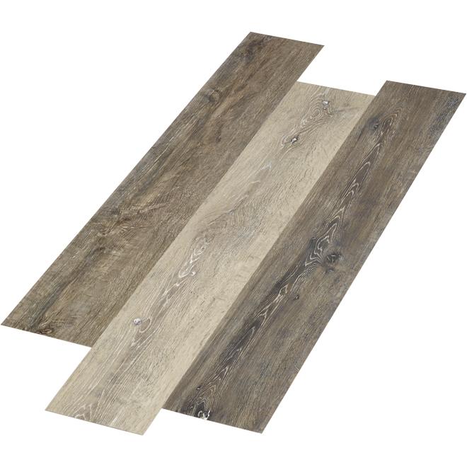 Vinyl Floor - Driftwood Style - 28.38 sq. ft. - Grey