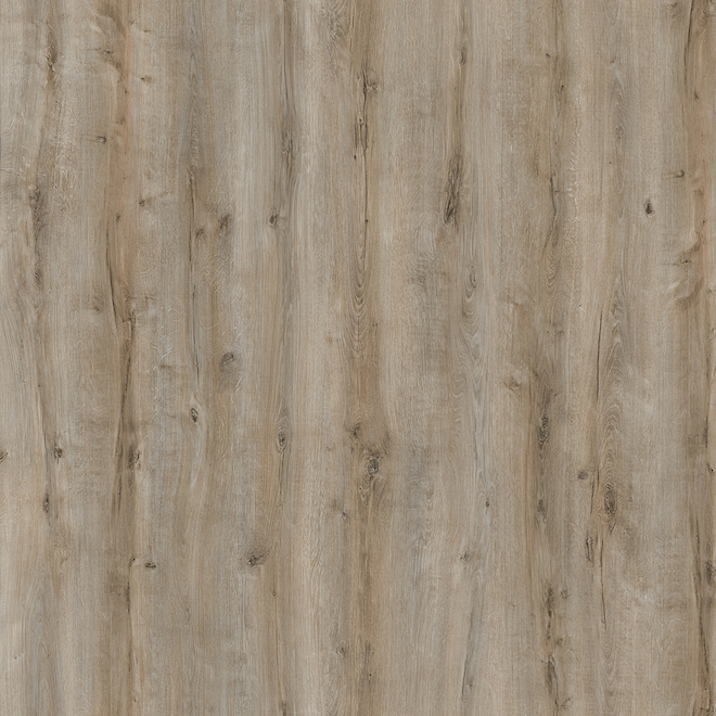 Plancher stratifié Mono Serra Rome en HDF de 7,51 po x 47,04 po, 19,65 pi², brun