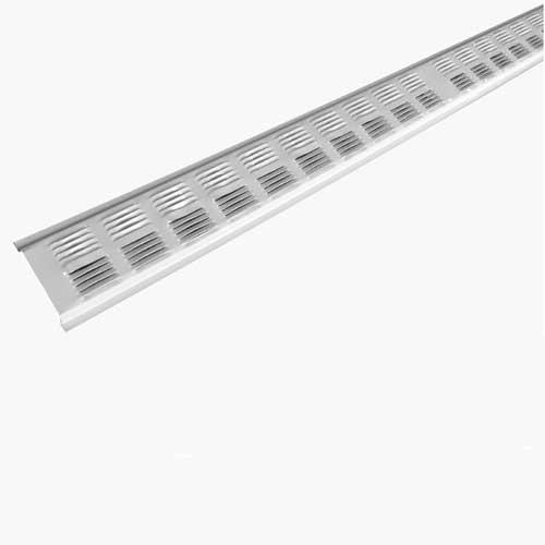 Metal Soffit Vent 8' - White