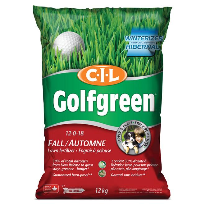Fall Lawn Fertilizer - 12 kg