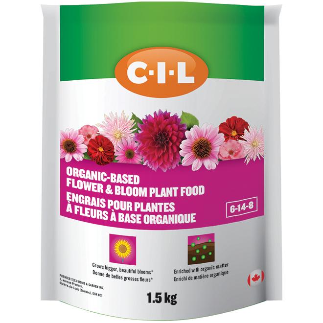 Fertilizer - Flower and Bloom Plant Food - 06-14-08 - 1.5 kg