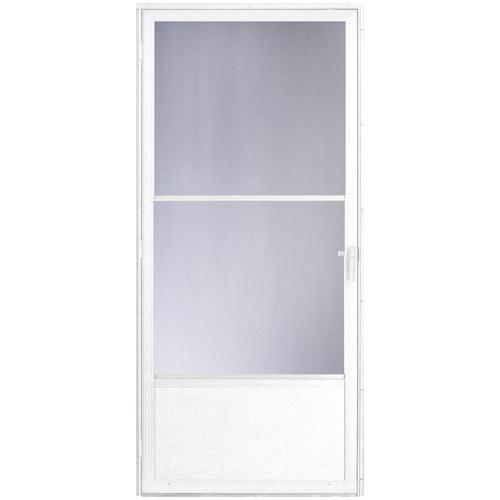 """""""Provincial"""" Aluminum Storm Door"""