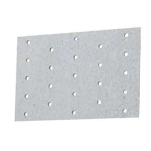 "Galvanized Steel Tie Plate 3"" x 5"" - Box of 100"