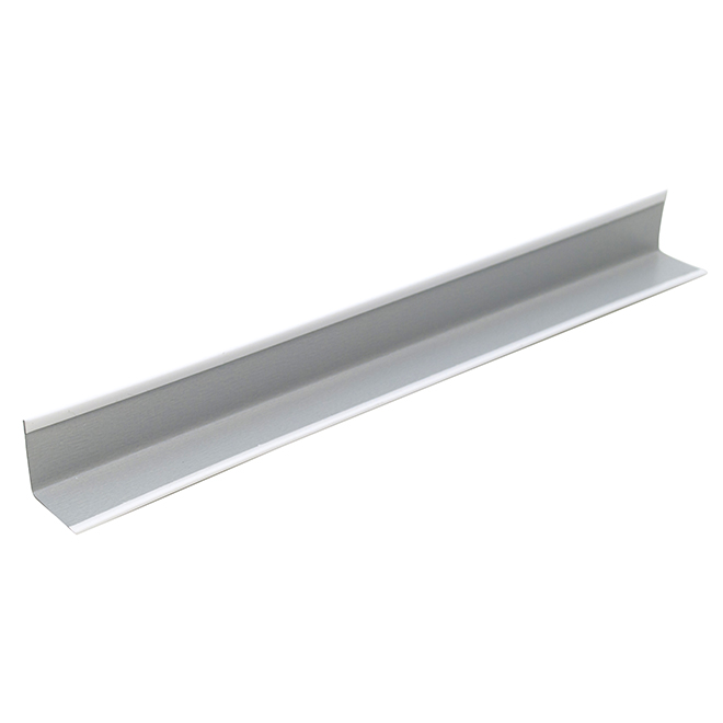 CertainTeed Wall Angle - 7/8-in x 7/8-in x 10-ft - Metal - White