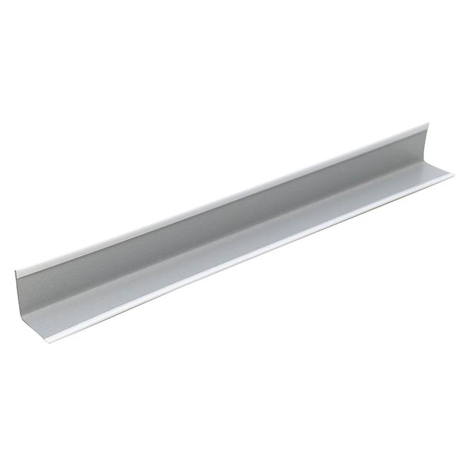 CertainTeed Wall Angle - Metal, 7/8'' x 7/8'' x 10' - White