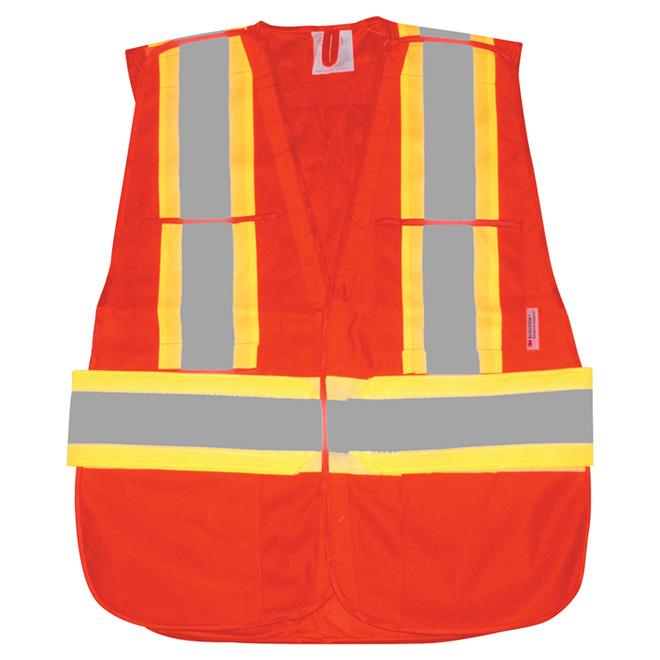 Degil RefleXWar Safety Vest - Fluorescent Orange