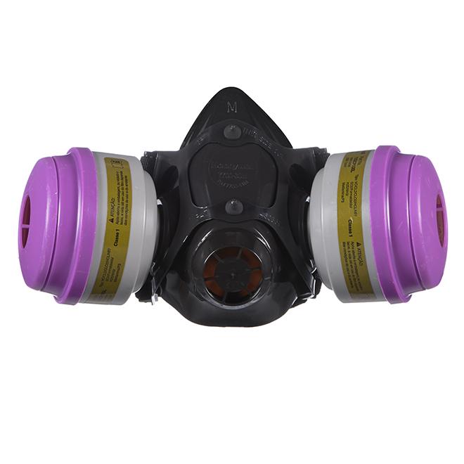 Respirator for Paint Spray - MCP100 - Medium - Black