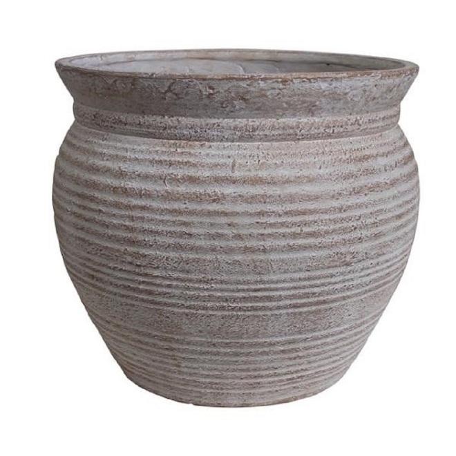 Garant Diego Planter - 13-in - Resin - Terracotta
