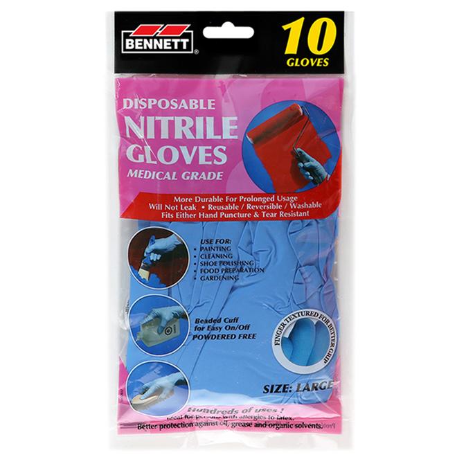 Nitrile Disposable Glove 10 Units