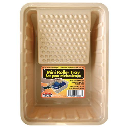 """Plastic Mini Roller Tray - 6.5"""" x 9"""" x 3.25"""""""