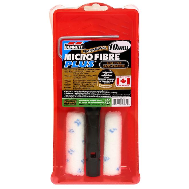 """Microfibre Roller Set - 4"""" - 4-Piece"""