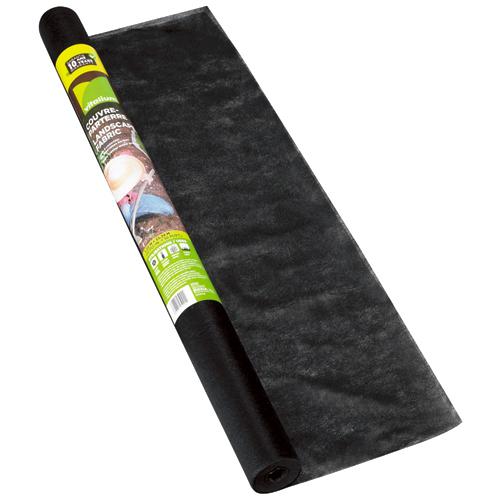Couvre parterre Vitalium, noir, 1,25 oz