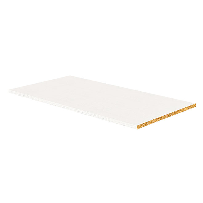"Melamine Shelf - White - 5/8"" x 16"" x 30.50"""