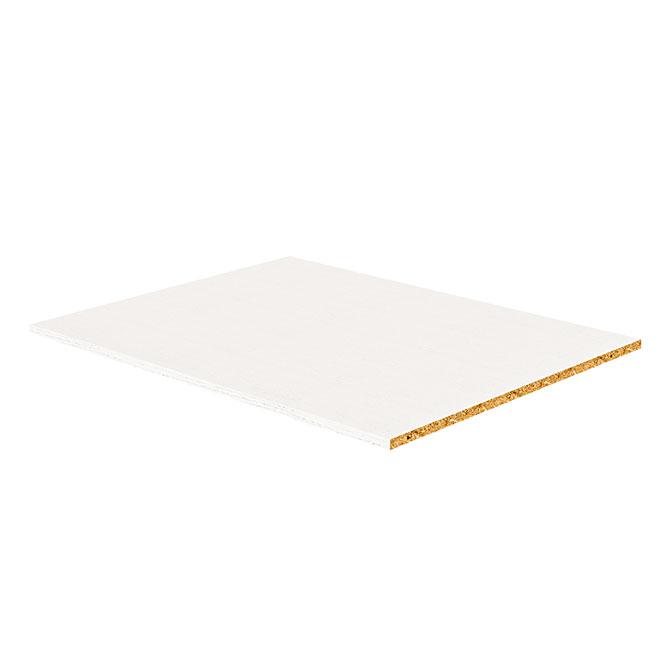 "Melamine Shelf - White - 5/8"" x 24"" x 22.5"""
