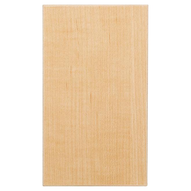 "Melamine Panel - Elegant Maple - 5/8"" x 4 x 8'"
