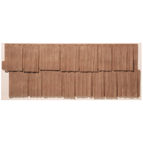 """Outdoor Siding - 19 x 48"""" - Traditional Cedar"""