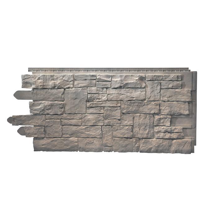 Panneau de pierres empilées