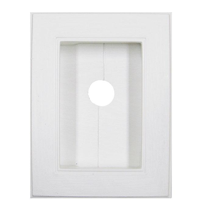 Mini plaque sectionnelle blanc
