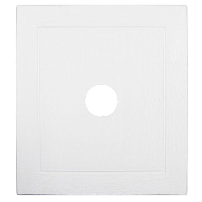 Plaque de montage universelle blanc