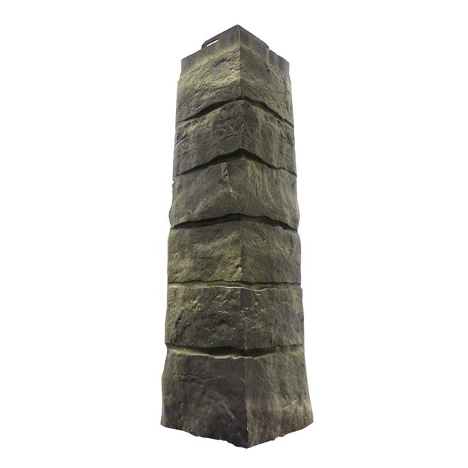 Dry Stacked Polymer Cornerstones, Onyx