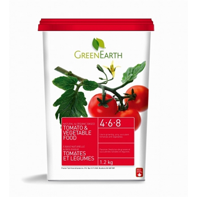 1.2-kg Tomato and vegetable food
